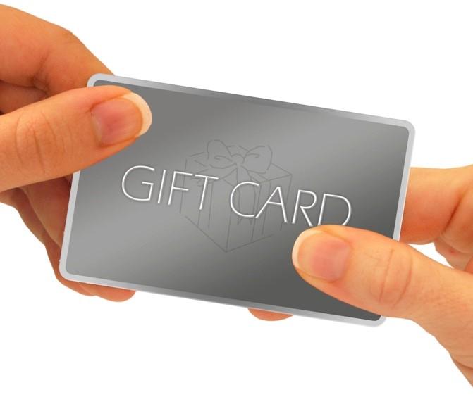 Dealership gift cards program