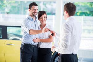 Couples Loyal to Automotive Dealer with Rewards Program