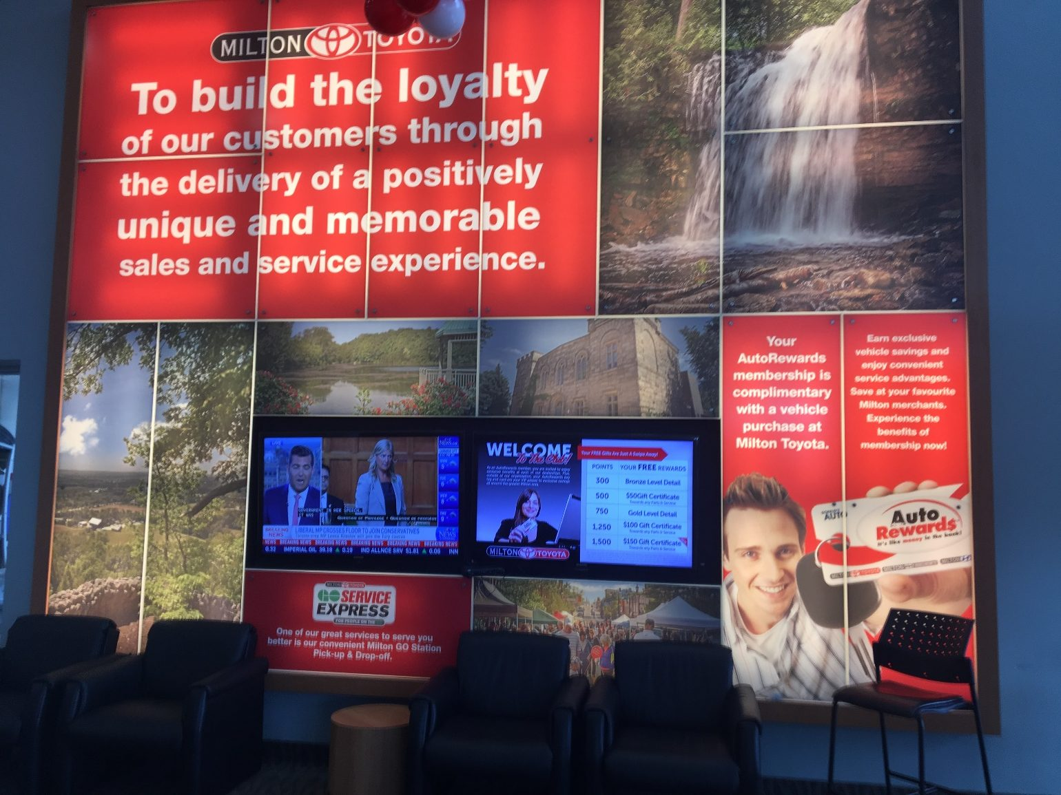 AutoAwards' Milton Toyota Automotive Dealership Loyalty Program