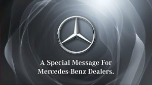Mercedes Benz Auto Dealership Marketing Consultant