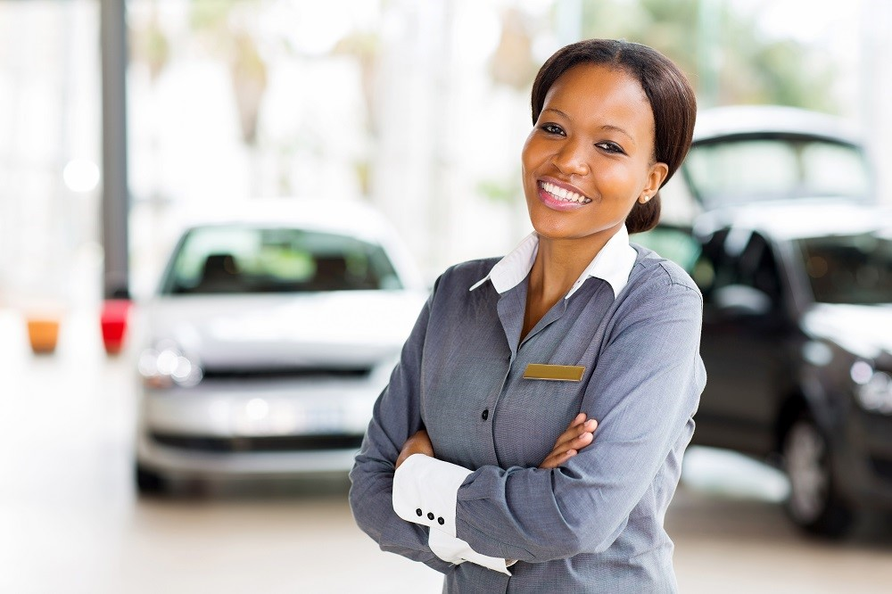 Auto Dealership Smiling Customer Loyalty Rewards Program