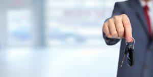 Auto dealership loyalty program keys promote dealership