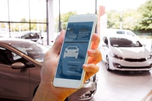 CRM system leads customer to auto dealership